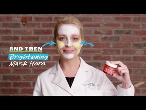 Facial mask na gawa sa tela