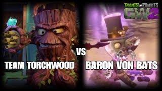 Plants Vs Zombies GW2 TEAM TORCHWOOD VS BARON VON BATS
