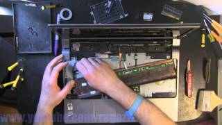 DELL STUDIO 1737 take apart, disassembly, how-to video (nothing left) HD