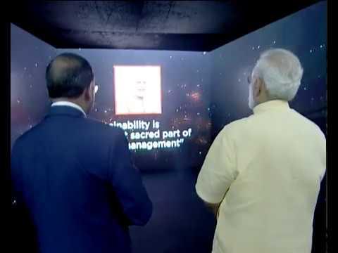 PM Modi at launch of Pradhan Mantri Sahaj Bijli Har Ghar Yojana & dedicate Deendayal Urja Bhavan