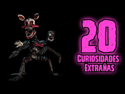 TOP 20: 20 Curiosidades Extrañas Que No Sabias De Nightmare Mangle De FNAF 4 Halloween