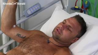 INJURED SOUTHERN 80 SKIERS GIVE FIRST INTERVIEW