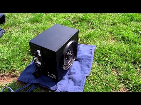 80W Tragbarer Lautsprecher EXTREM