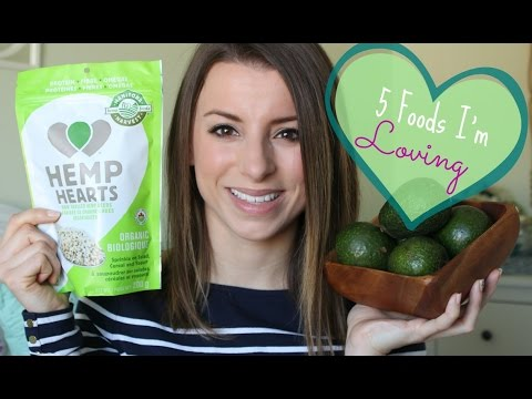 Video 5 Foods I'm loving Collab | Healthy Raw Vegan Foods