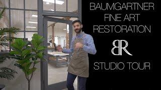Baumgartner Fine Art Restoration - Studio Tour