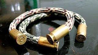 DIY Copper Bullet Bracelet