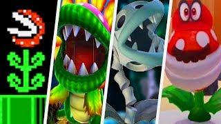Evolution of Piranha Plant in Super Mario Games (1985 - 2017)