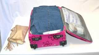 150 outfits in a carry on! amazing packing tutorial! low cost summer