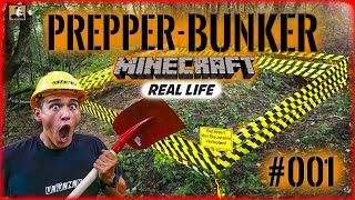 """Survival Mattin"" baut GEHEIMBUNKER #001 