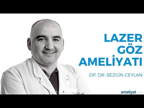 Lazer Göz (Çizdirme) Ameliyatı (Op. Dr. Sezgin Ceylan)