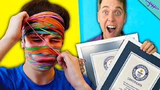 We Tried To Beat IMPOSSIBLE WORLD RECORDS!