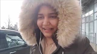 #Vlog1 2018 || Its Snowing in Birmingham (Lovely Weather) - more snow expected during week