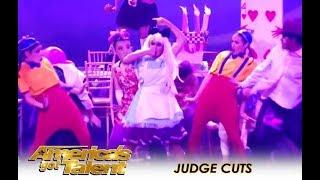 PAC Dance Team: High-school Group WILD Act Divides The Judges | America's Got Talent 2018