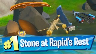 Collect stone from Rapid's Rest Location - Fortnite Battle Royale
