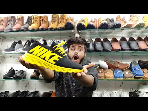 Wholesale shoes market starting 50 ₹| Branded Quality Shoes | jordan shoes, flip flops, Leather,NIKE