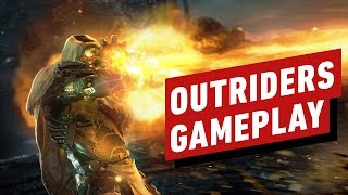 Outriders: 17 Minutes of Gameplay - Next-Gen Co-Op Looter Shooter RPG
