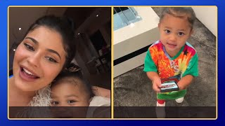 Kylie Jenner Posts Sweet Video of 'Daddy's Girl' Stormi Dancing to 'Rise and Shine' Remix