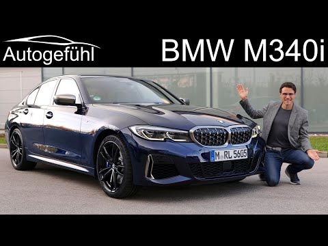 BMW M340i FULL REVIEW all-new 3-Series M Performance model - Autogefühl