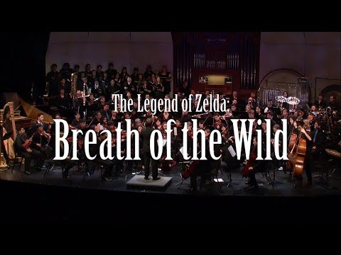 Interpretación oquestal de Breath of the Wild en la Game Music Ensemble de UCLA