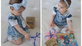 BABY VLOG: 10 МЕСЯЦЕВ ЭМИЛИ! Подарки! Идем на ДР