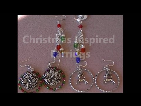 Christmas Trio Earrings