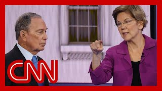Elizabeth Warren hits Bloomberg on NDAs for women at his company
