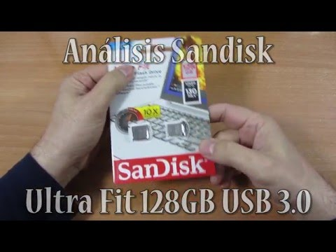Análisis Sandisk ULTRA Fit USB 3.0 con 128GB