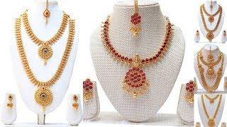 Bridal Jewelry || Bridal Jewellery Makeup|south Indian Bridal Jewellery