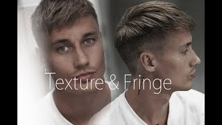 Men's Hair Inspiration - Messy Modern Hairstyle With Short Spiky Fringe - #NEW 2017