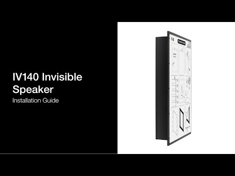 IV140 Invisible Speaker - Conceal Audio In Your Home