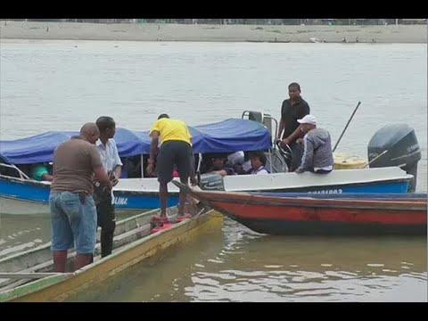 Un muerto y cinco heridos dejo accidente entre dos embarcaciones en Choco - Noticias Caracol