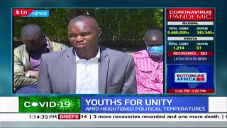 Kenya Youth association agitate for unity amid heightened political temperatures in Kenya