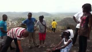 preview picture of video 'Group C2009 on top of Isamuni hill during Ibarapa posting'