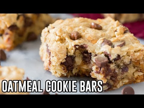 Download How To Make Oatmeal Cookie Bars HD Mp4 3GP Video and MP3