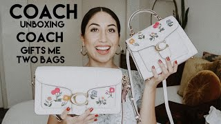 Coach Tabby 20 + Tabby 26 || Coach Unboxing || Coach Gifted Me Two Bags