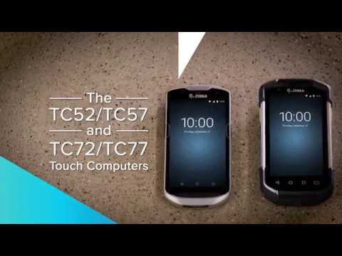 Zebra TC52 and TC57 Series Rugged Touch Computer - Android 8.1 (Oreo) video thumbnail