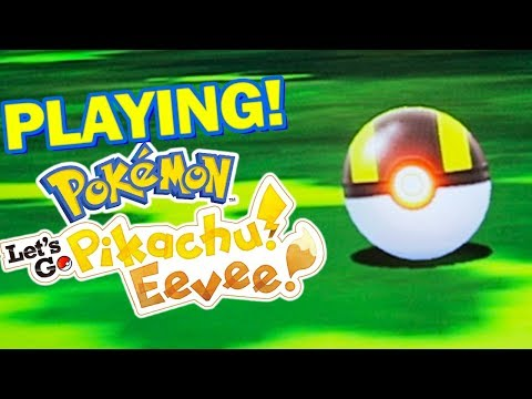Pokemon Let's Go Pikachu and Eevee – Gameplay Walkthrough