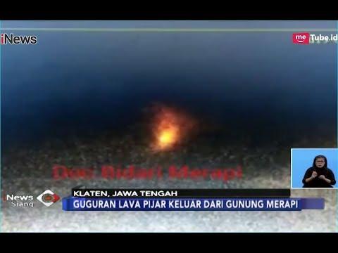 Guguran Lava Pijar Keluar, Gunung Merapi Berstatus Waspada - iNews Siang 05/01