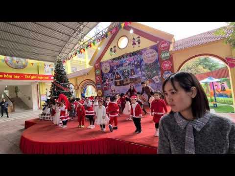 Noel của bé ở trường mầm non Lê Lợi TP Bắc Giang