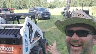 Still building fence !! Live on the Stoney Ridge Farm