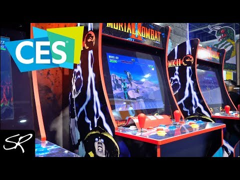 Download Arcade 1up Ces 2019 Footage Must See Video 3GP Mp4 FLV HD