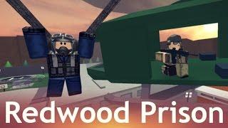 RoBlox. Redwood Prison - Заключенные против Охранников! Игровое видео для детей, Let's play.