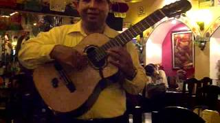 Guantanamera Performed by a Mariachi Band @ La Parilla Restaurant in Cancun, Mexico