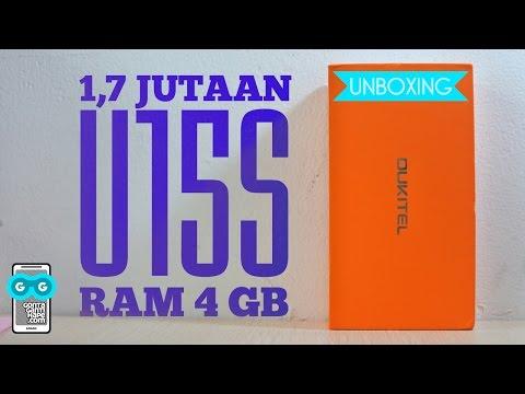 Video 1,7 juta dapet RAM 4GB dan Layar SHARP Full HD - Unboxing Oukitel U15S
