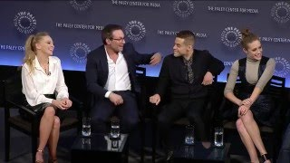 Mr. Robot - Rami Malek, Christian Slater on Figuring Out the Show : Paley Fest