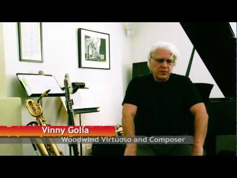 Vinny Golia: Painting With Music online metal music video by VINNY GOLIA