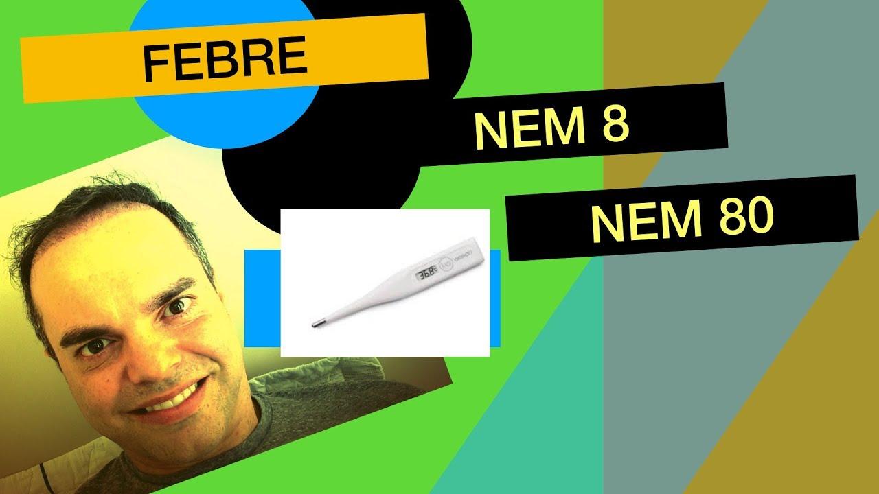 Imagem de slide de FEBRE: NEM  8  NEM  80.