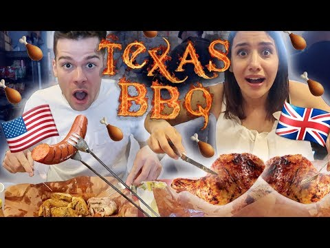 British FIRST TIME Trying Texas BBQ