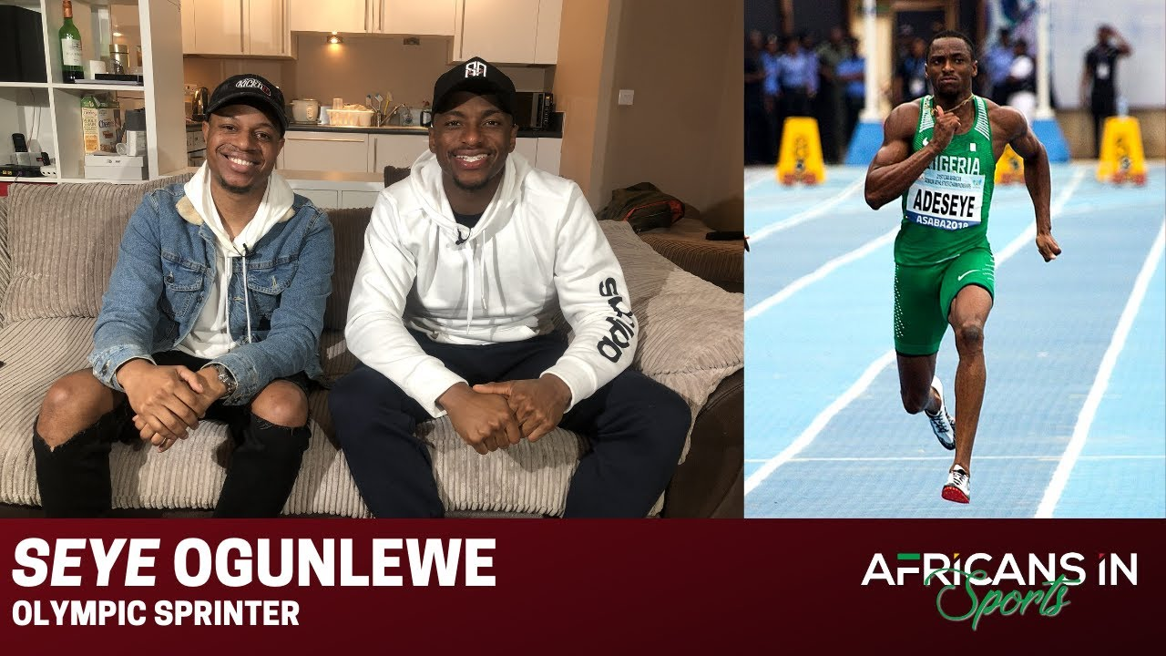 Seye Ogunlewe | Jollof Gold, Competing at the Olympics and Representing Nigeria