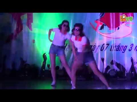 Nhảy Gangnam style - Tập thể Gv khối 4, 5 Hệ thống giáo dục Billgates schools ngày 8/3